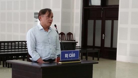 Bị cáo Trần Quang Trung