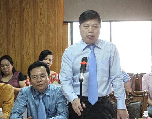 PGS.TS Vũ Ngọc Thanh, Hiệu trưởng trường ĐH Sân khấu Điện ảnh TPHCM, cho biết đã giúp công an Cần Thơ xác định nhân thân ông V.