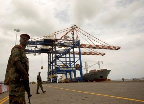 Cảng Doraleh của Djibouti . Ảnh: Reuters.
