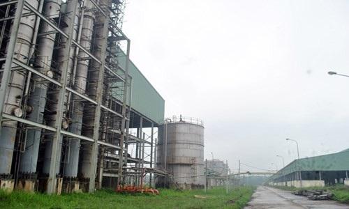 Dự án Ethanol Phú Thọ tiêu tốn hơn 1.500 tỉ đồng nhưng dường như vẫn đắp chiếu.