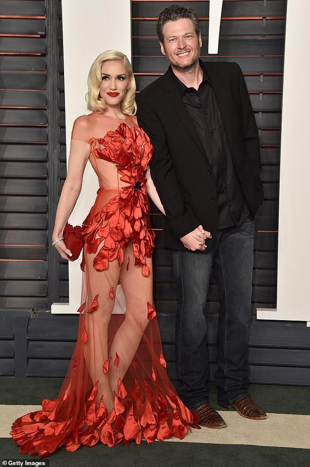 Gwen và Blake đã hò hẹn 3 năm.