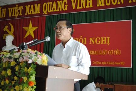 Ông Nguyễn Văn Thử, nguyên Phó Bí thư thường trực Tỉnh ủy Đắk Nông bị kỷ luật khiển trách