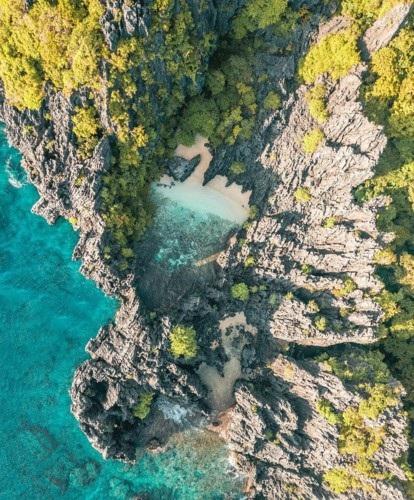 Thiên đường nhỏ El Nido ở Palawan, Philippines còn nguyên vẻ hoang sơ.