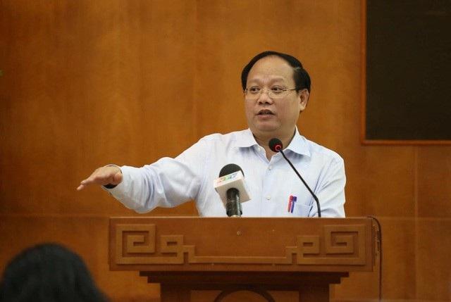 Ông Tất Thành Cang - Phó Bí thư Thường trực Thành ủy TP HCM
