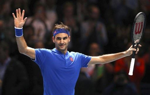 Federer đã giành quyền vào bán kết ATP Finals năm thứ 10 liên tiếp