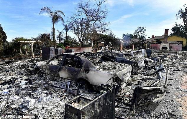 Vụ cháy rừng gây nên những thiệt hại nghiêm trọng và khung cảnh hoang tàn