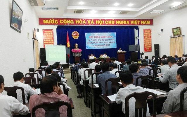 Hội thảo khoa học ngành tôm Bạc Liêu ngày 16/11.