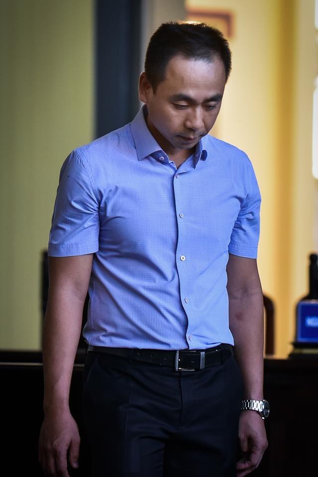 Bị cáo Nguyễn Hoàng Linh.