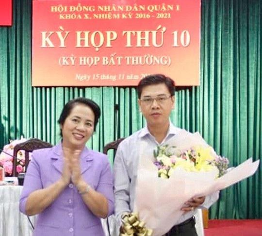 Ông Nguyễn Văn Dũng được bầu làm Chủ tịch UBND quận 1 (ảnh: Nguyễn Phan)