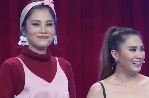 Nam Anh - chị gái của Nam Em bất ngờ trở thành người chơi trong chương trình mà Trường Giang làm MC.