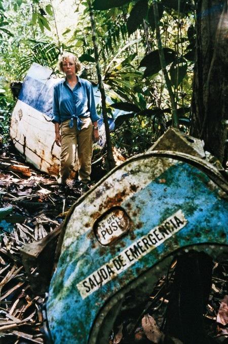 Juliane Koepcke là người duy nhất còn sống sót sau thảm kịch máy bay rơi