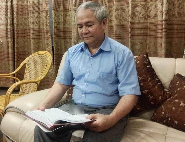Ông Trịnh Cần Chính - vị doanh nhân dòng dõi khởi nghiệp lúc đã lục tuần (ảnh Vietnamnet)