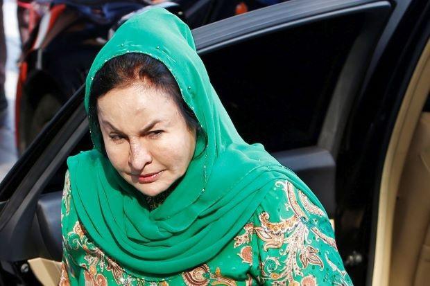 Bà Rosmah bị cáo buộc hai tội danh tham nhũng, xin xỏ và nhận hối lộ. (Nguồn: thestar.com.my)