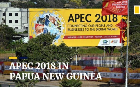 APEC 2018 ở Papua New Guinea. Ảnh: YouTube.