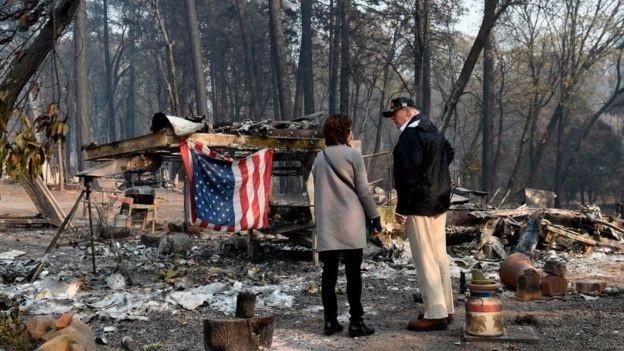 Trong khi đó, giới chuyên gia cho rằng, biến đổi khí hậu, sự dịch chuyển nơi sống của cư dân là nguyên nhân lớn hơn gây ra các vụ cháy rừng. (Ảnh: Reuters)