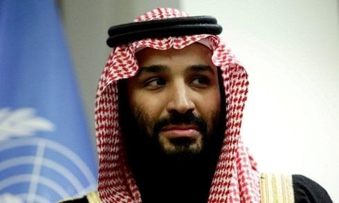 Thái tử Mohammed bin Salman tại Mỹ hồi tháng ba. Ảnh: Reuters.