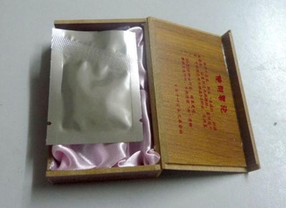 Sản phẩm màng trinh giả được quảng cáo có xuất xứ từ Nhật Bản, với giá khoảng 1 triệu đồng.
