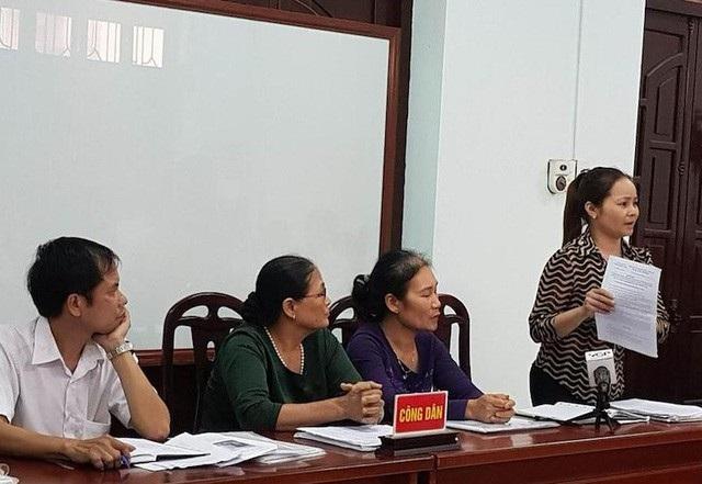 Người dân khiếu kiện kéo dài tại Dự án đầu tư xây dựng hạ tầng kỹ thuật khu dân cư phía Nam phường Dĩnh Kế, TP.Bắc Giang, tỉnh Bắc Giang.