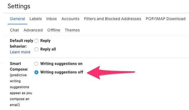 Sau khi đã lựa chọn được giao diện mong muốn, người dùng nhấn OK để áp dụng. Thêm một mẹo nữa đó là bạn có thể tắt đi tính năng tự động gợi ý khi viết bằng cách nhấn vào mục Smart Compose (Trả lời thông minh) và bỏ tùy chọn này đi.