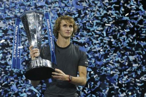 Zverev lần đầu đăng quang ở ATP Finals