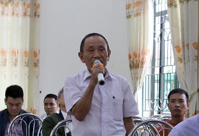 Cử tri Dương Văn Chuốt đề nghị xử lý nghiêm các trường hợp vi phạm đất rừng Sóc Sơn