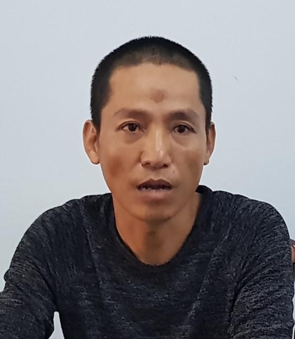 Nguyễn Phương Đại đến cơ quan công an đầu thú