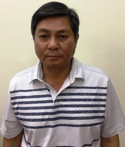 Bị can Đào Anh Kiệt, nguyên Giám đốc Sở TN&MT TPHCM.