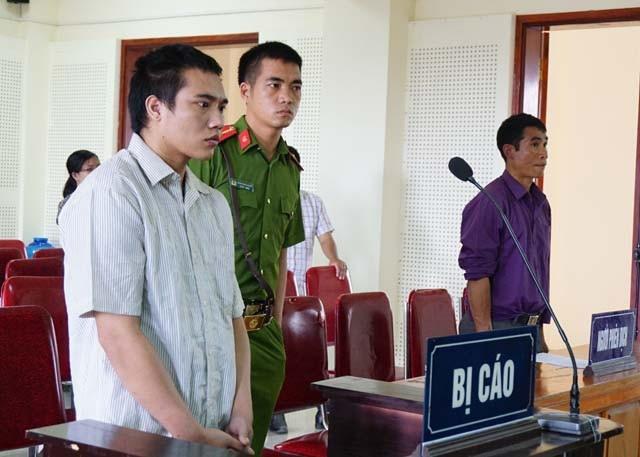 Lương Văn Hùng tại phiên tòa.