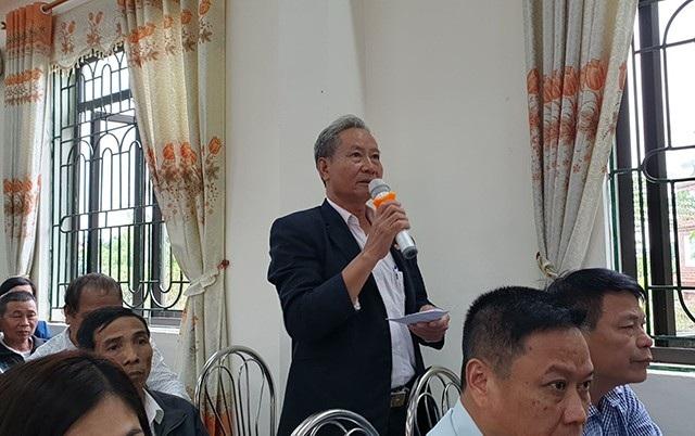 Cử tri Trần Đức Phương - xã Minh Trí phản ánh tình trạng vi phạm trật tự xây dựng tại huyện Sóc Sơn