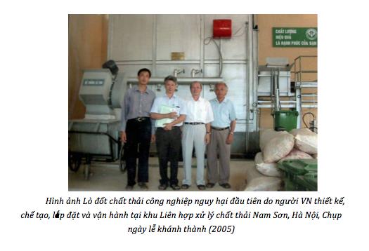 """Lò đốt chất thải công nghiệp nguy hại """"made in Việt Nam"""" đầu tiên của Giáo sư 81 tuổi - 2"""