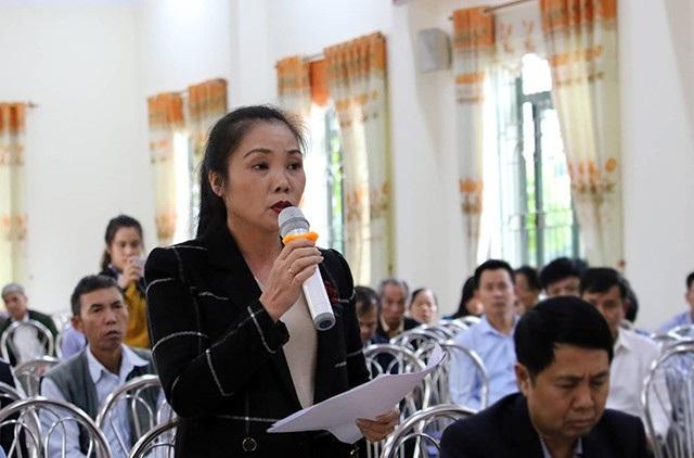 Bà Vi Thị Bình An - Phó Chủ tịch UBND huyện Sóc Sơn