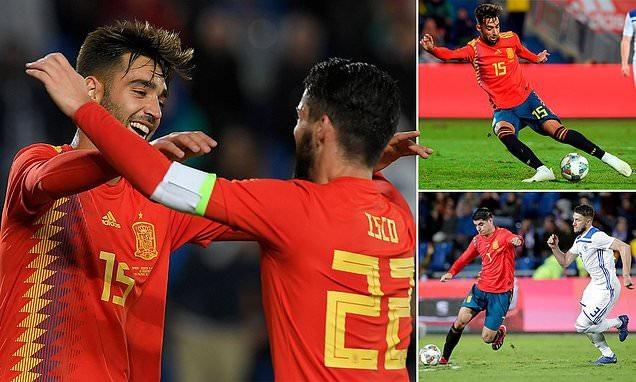 Tây Ban Nha đã có chiến thắng ấn tượng trên sân nhà