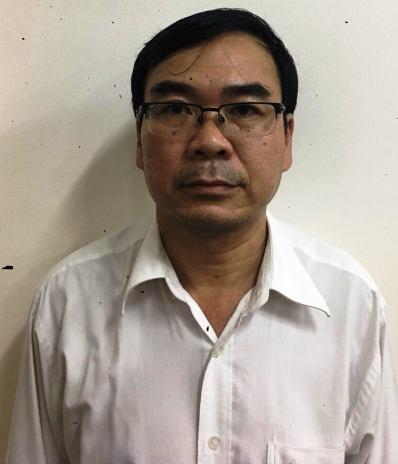 Bị can Trương Văn Út, nguyên Phó Trưởng phòng Quản lí đất, Sở TN&MT TPHCM.