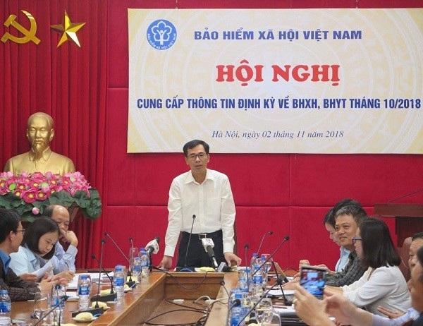 Ông Đào Việt Ánh trao đổi tại Hội nghị hôm 2/11.