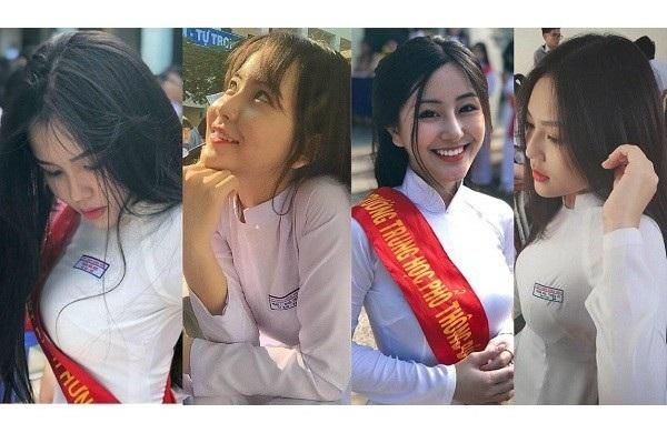 Các nữ sinh nổi tiếng của trường THPT Bình Hưng Hoà