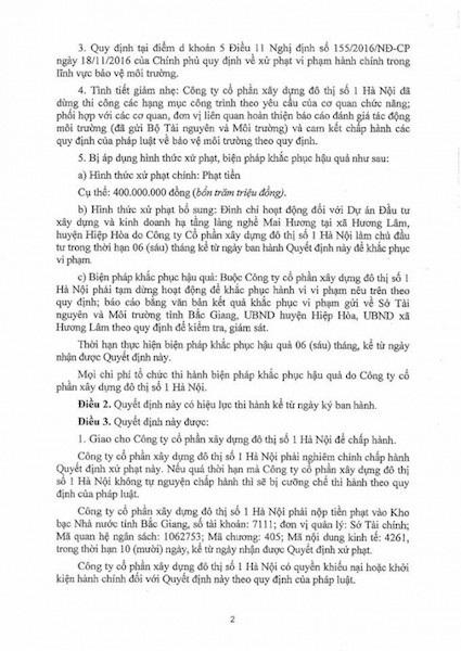 Chủ tịch tỉnh Bắc Giang thẳng tay xử nghiêm một doanh nghiệp làm ăn bát nháo - Ảnh 2.
