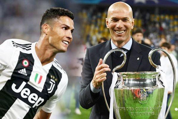 HLV Zidane sẽ tái ngộ với C.Ronaldo ở Juventus?