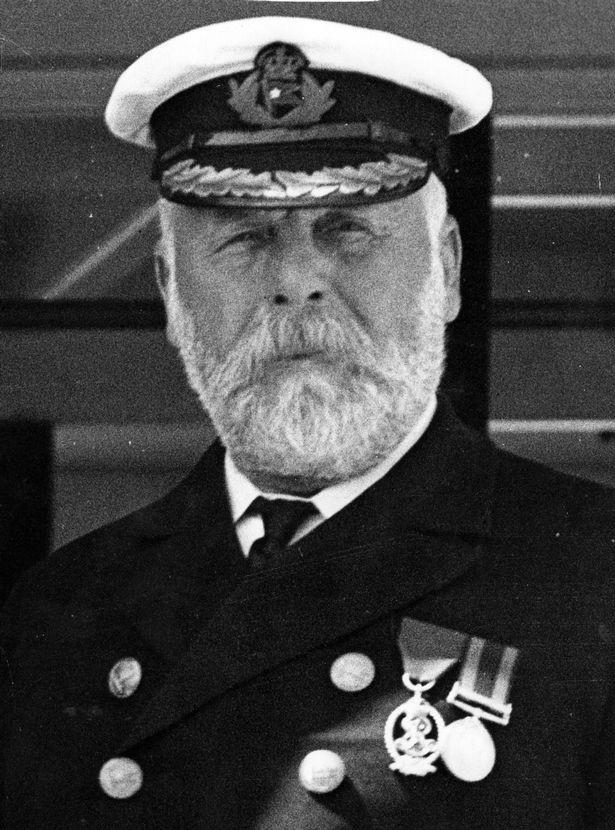 Chân dung của thuyền trưởng Edward John Smith, người cùng con tàu Titanic xấu số vĩnh viễn nằm dưới đáy đại dương