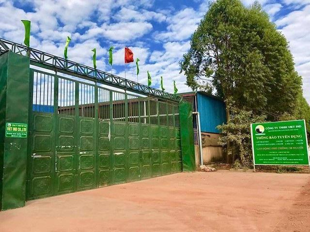 Công ty TNHH Việt IND sai phạm nghiêm trọng trong hàng loạt lĩnh vực.