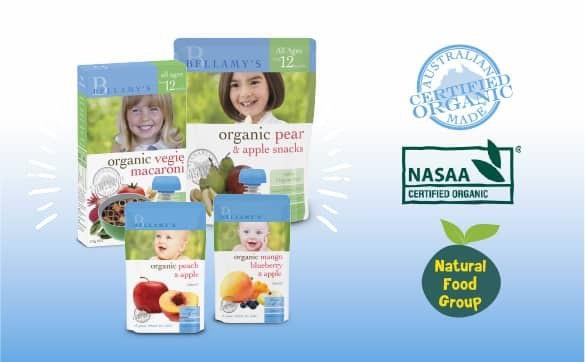 Bellamy's Organic chính thức có mặt tại Việt Nam, phân phối chính thức bởi Natural Food Group - 1