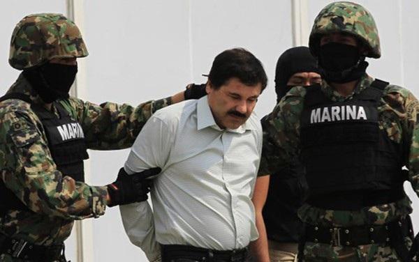 """Trùm ma túy """"El Chapo"""" bị bắt giam hồi tháng 2/2014. (Ảnh: Reuters)"""