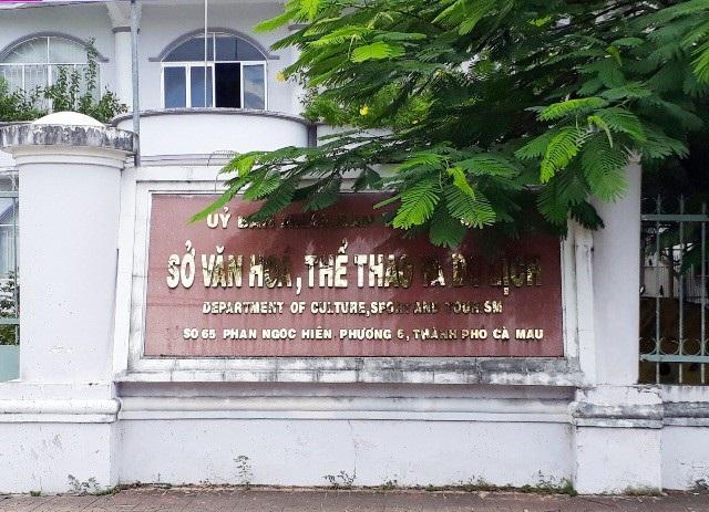 Sở VH-TT&DL tỉnh Cà Mau bổ nhiệm 2 cán bộ chưa đúng quy định. (Ảnh: CTV)