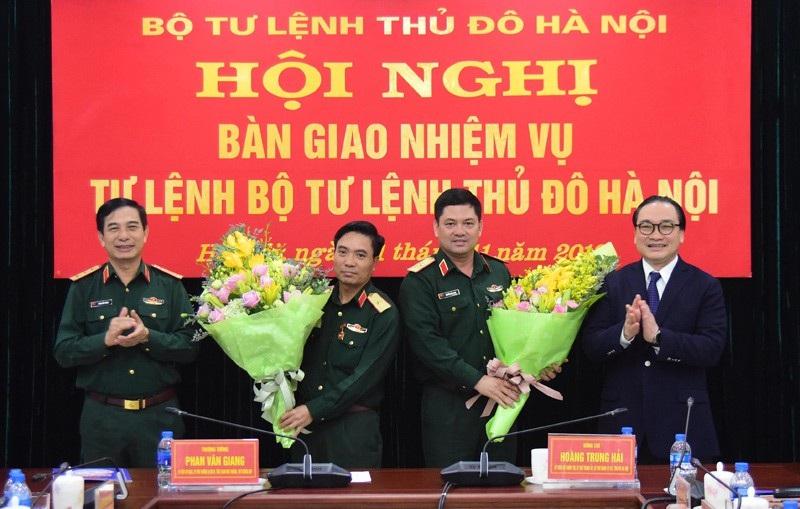 Thiếu tướng Nguyễn Hồng Thái giữ chức Tư lệnh Bộ Tư lệnh Thủ đô - Ảnh 1.