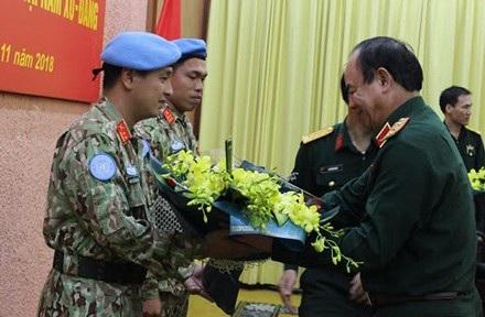 Thêm hai sĩ quan Việt Nam lên đường làm nhiệm vụ Gìn giữ hòa bình - Ảnh 2.