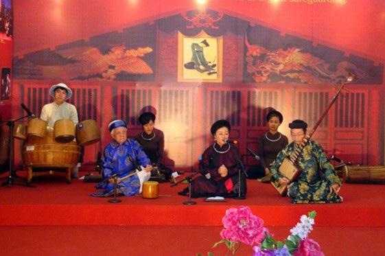 Nhiều loại hình văn hóa sẽ được diễn xướng trong Ngày hội Di sản Văn hóa Việt Nam lần thứ nhất 2018.