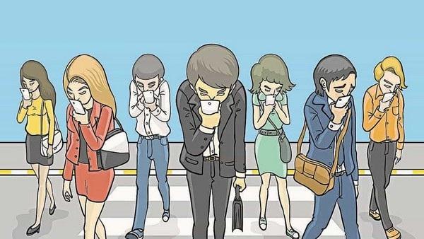 """""""Nghiện"""" smartphone và mạng xã hội đang được xem như một vấn đề ở xã hội hiện nay"""