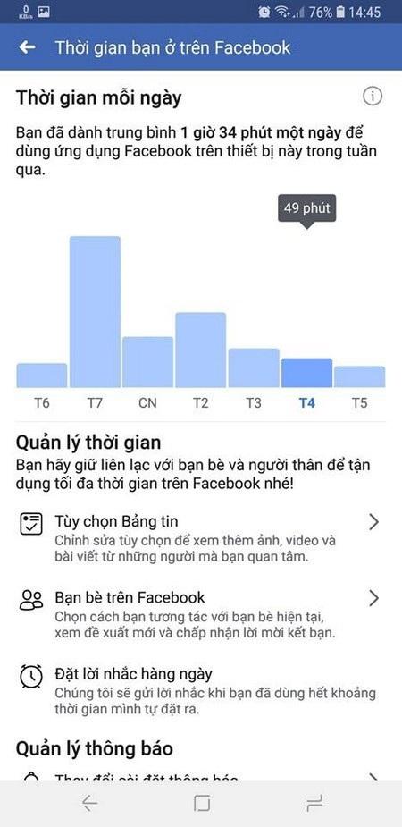 """Kiểm tra mức độ """"nghiện"""" mạng xã hội Facebook - 3"""