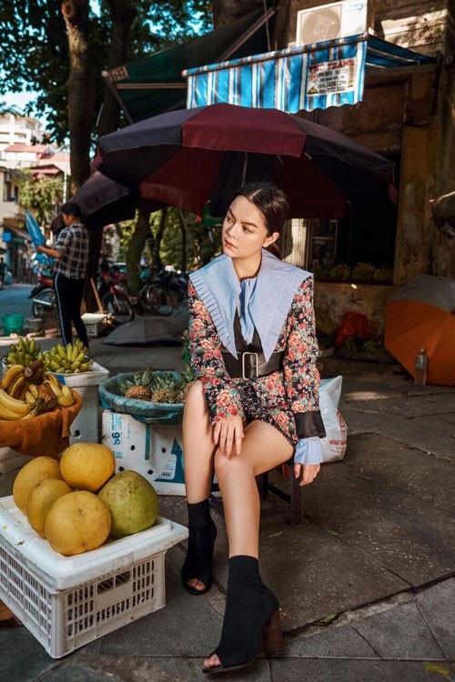 Tranh thủ dịp ra Hà Nội, Phạm Quỳnh Anh đã ghi lại những hình ảnh đẹp và đặc trưng của Hà Nội lúc đầu đông.