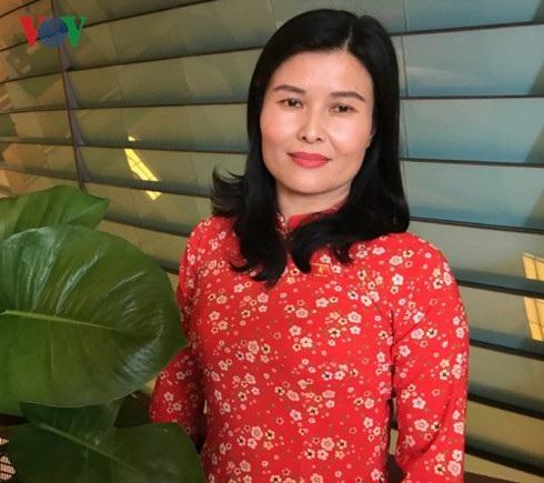 Đại biểu Quốc hội Bùi Thị Quỳnh Thơ.