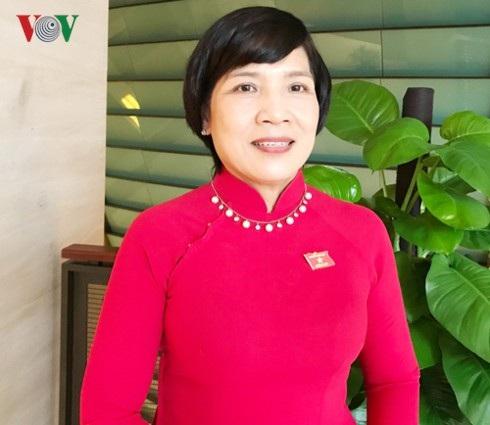 Đại biểu Quốc hội Mai Thị Ánh Tuyết.